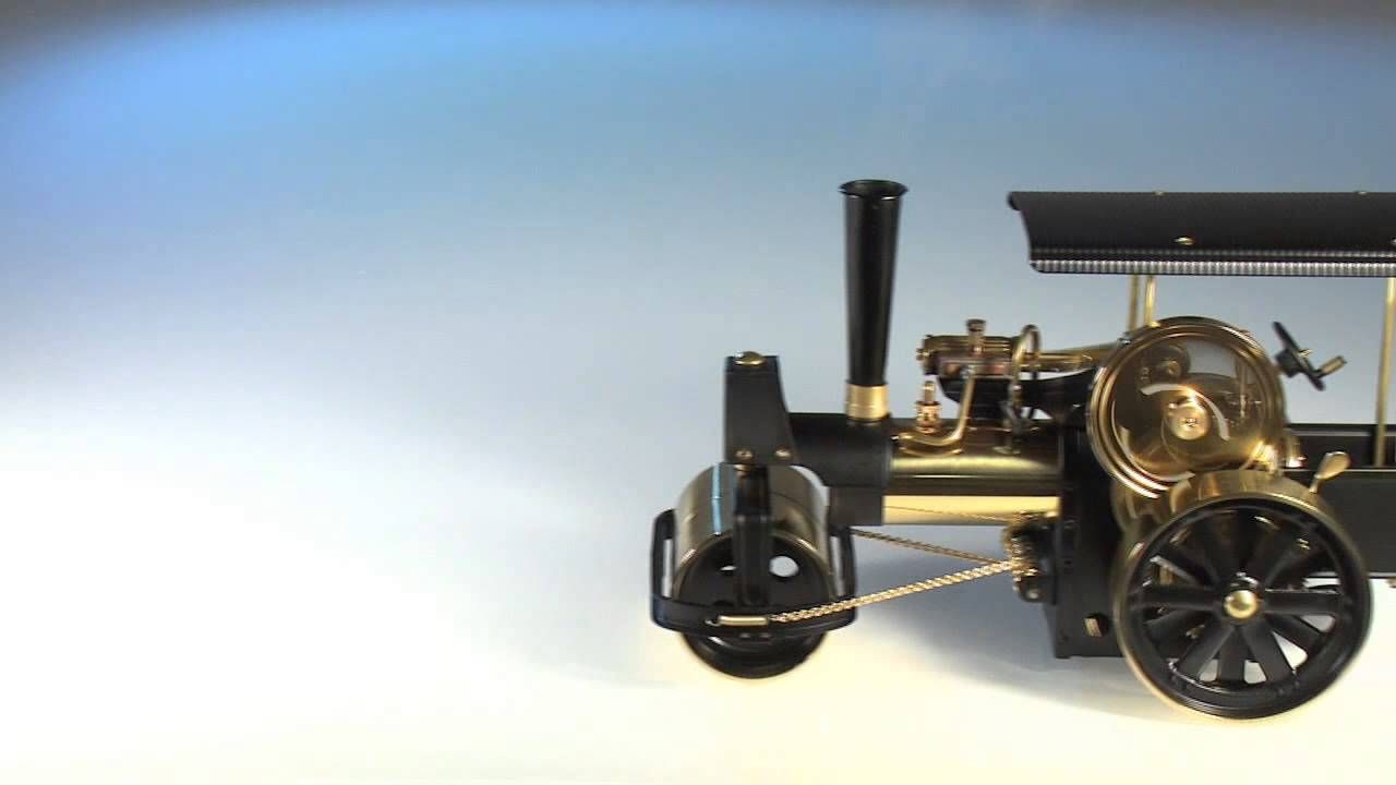Wilesco D366 Live Steam Roller | Wilesco Engines | Pinterest | Engine