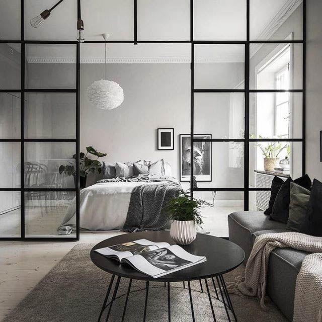 Quando utilizzare pareti divisorie in vetro pareti for Parete da soggiorno