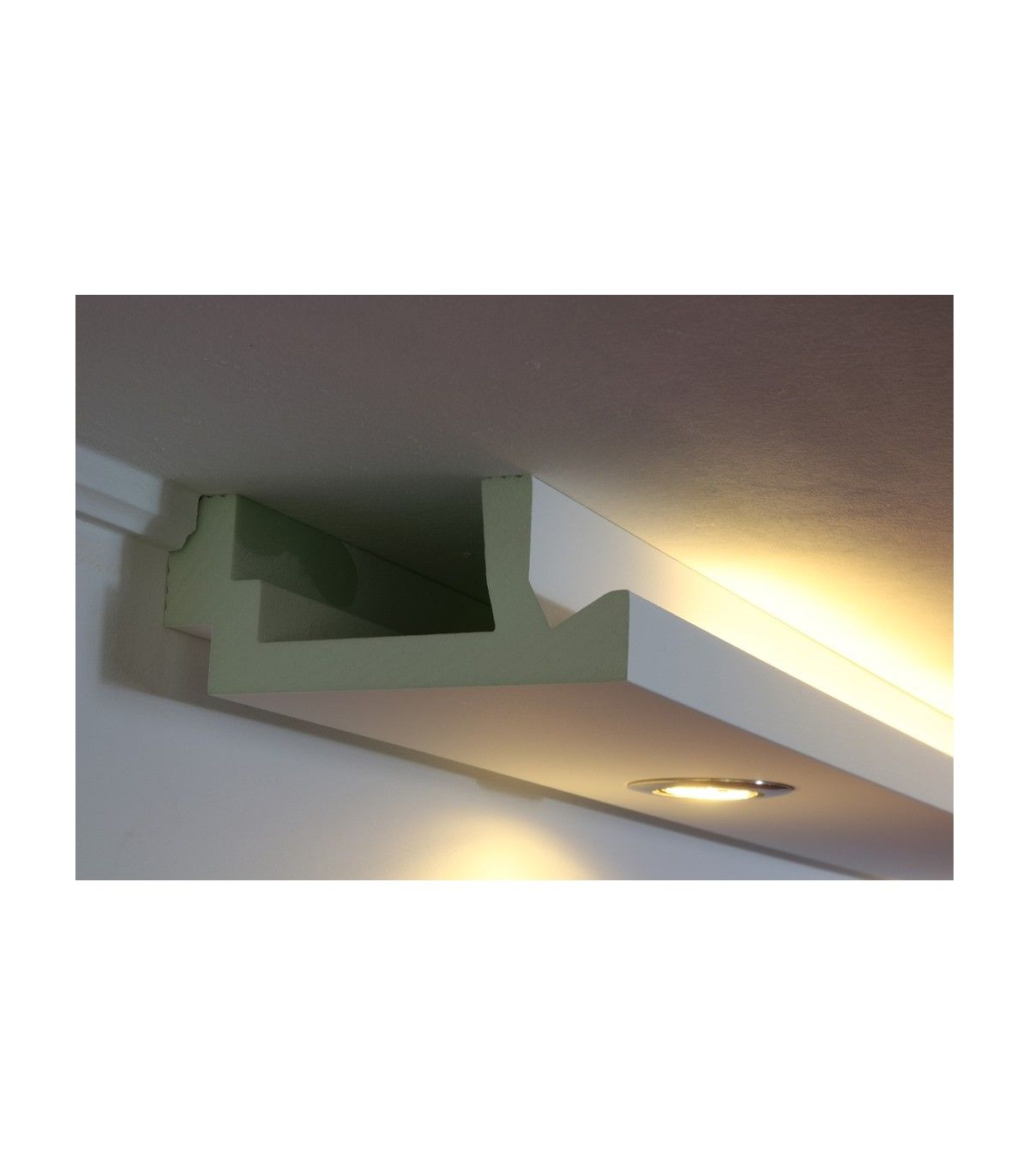 Profilmasse 200 X 82 X 1180mm Bxhxl Premium Ausfuhrung Stuckleiste Ist Weiss Grundiert Und Beschichte Beleuchtung Indirekte Beleuchtung Deckenbeleuchtung
