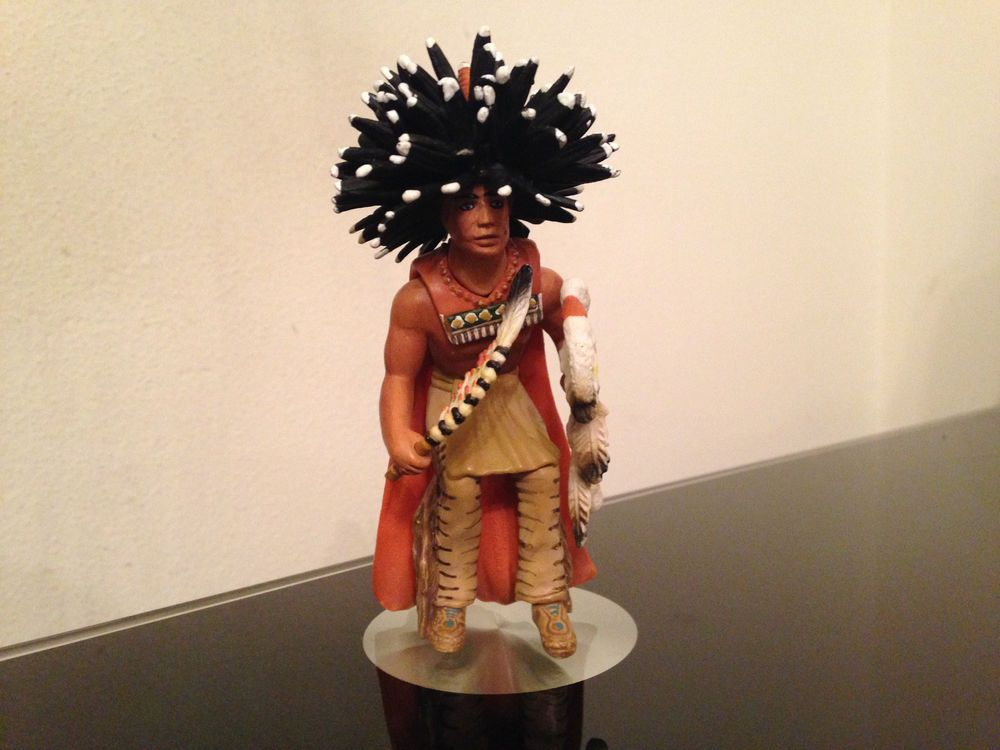 2005 Schleich Wild West Sioux Native American Indian Medicine Man figure 70309 #Schleich