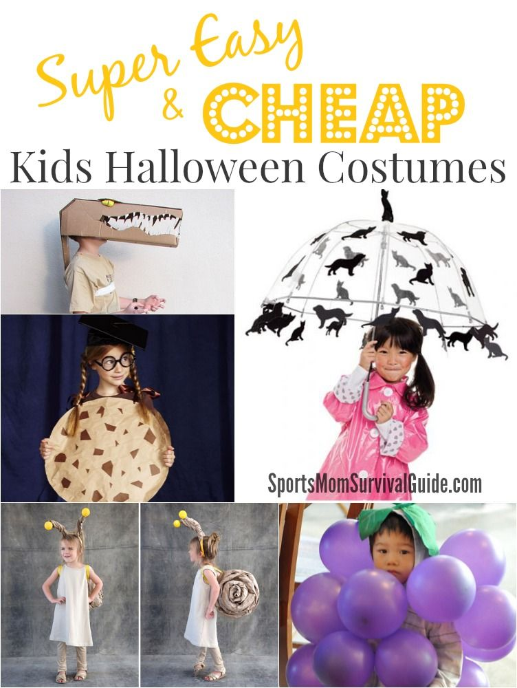 15 super easy and cheap kids halloween costumes find some great 15 super easy and cheap kids halloween costumesrfect for last minute diy ideas find some great costume tutorials that you can make yourself for little solutioingenieria Images