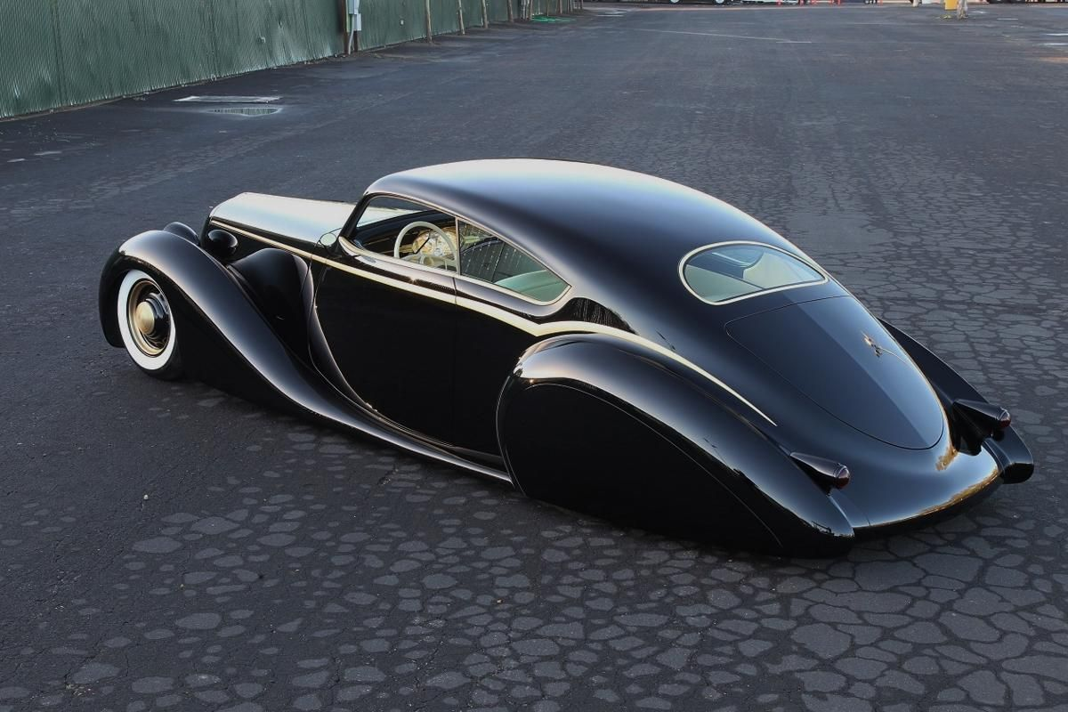 Metallica S James Hetfield S Custom Built Car The Black Pearl