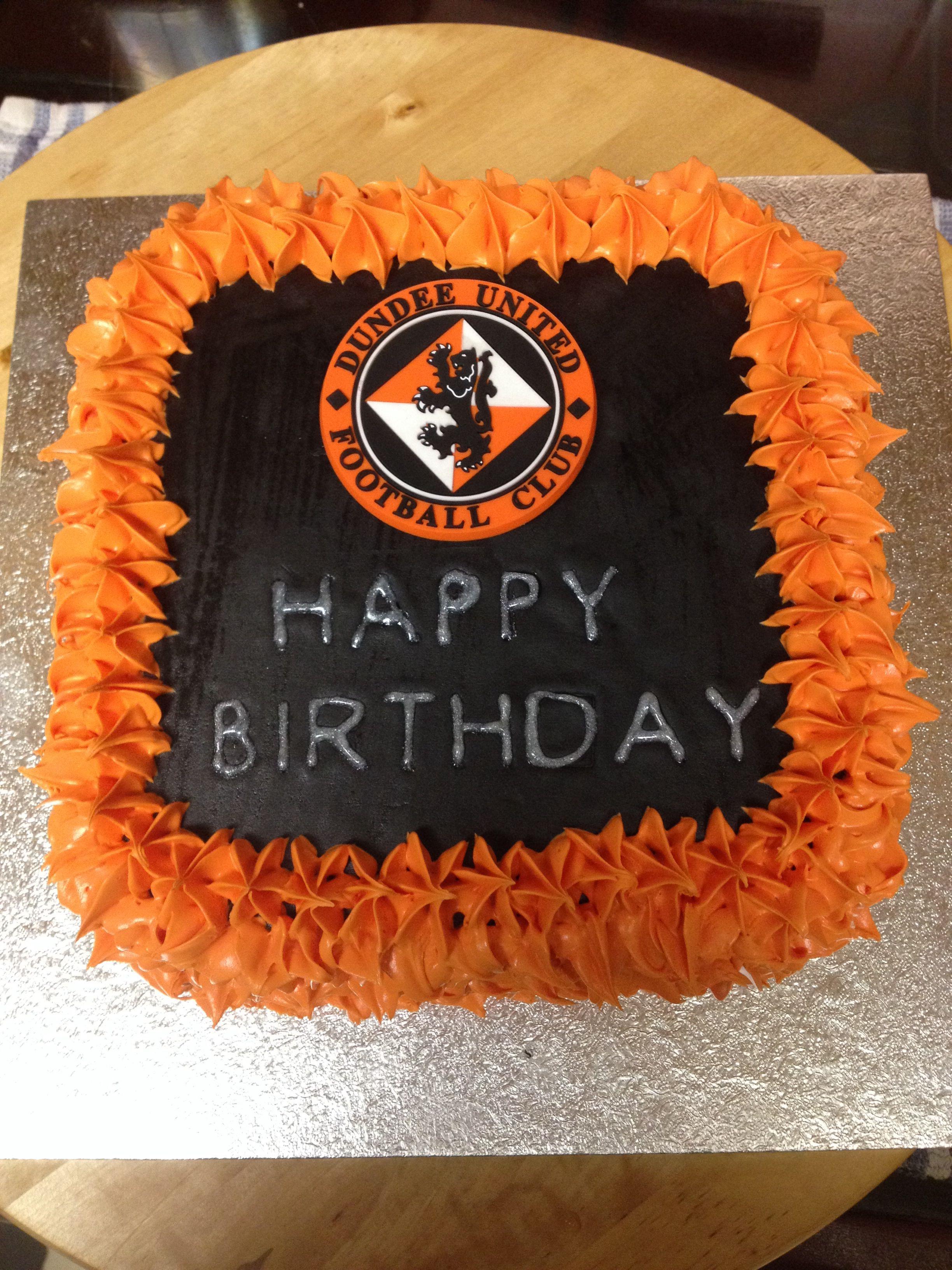 Dundee united cake my cakes pinterest dundee united dundee united cake publicscrutiny Images