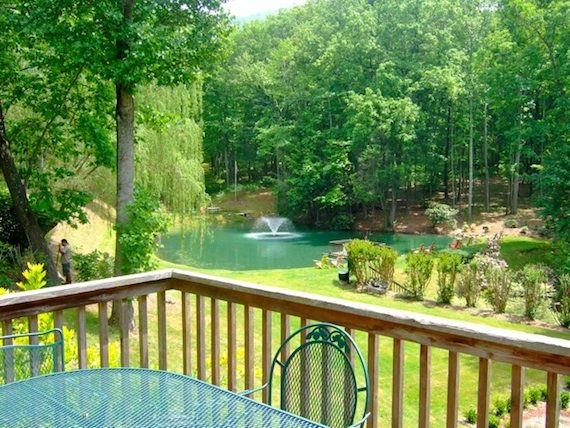 Asheville nc cabins luxury vacation rentals willow for Asheville nc luxury cabin rentals