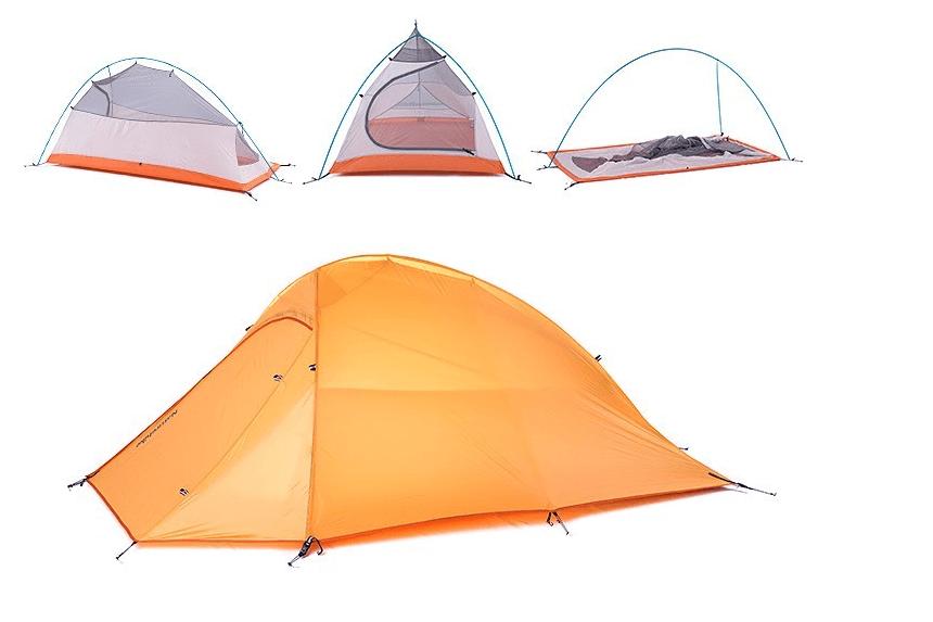 2 6 Lb Ultralight 1 2 Person 4 Season Backpacking Tent