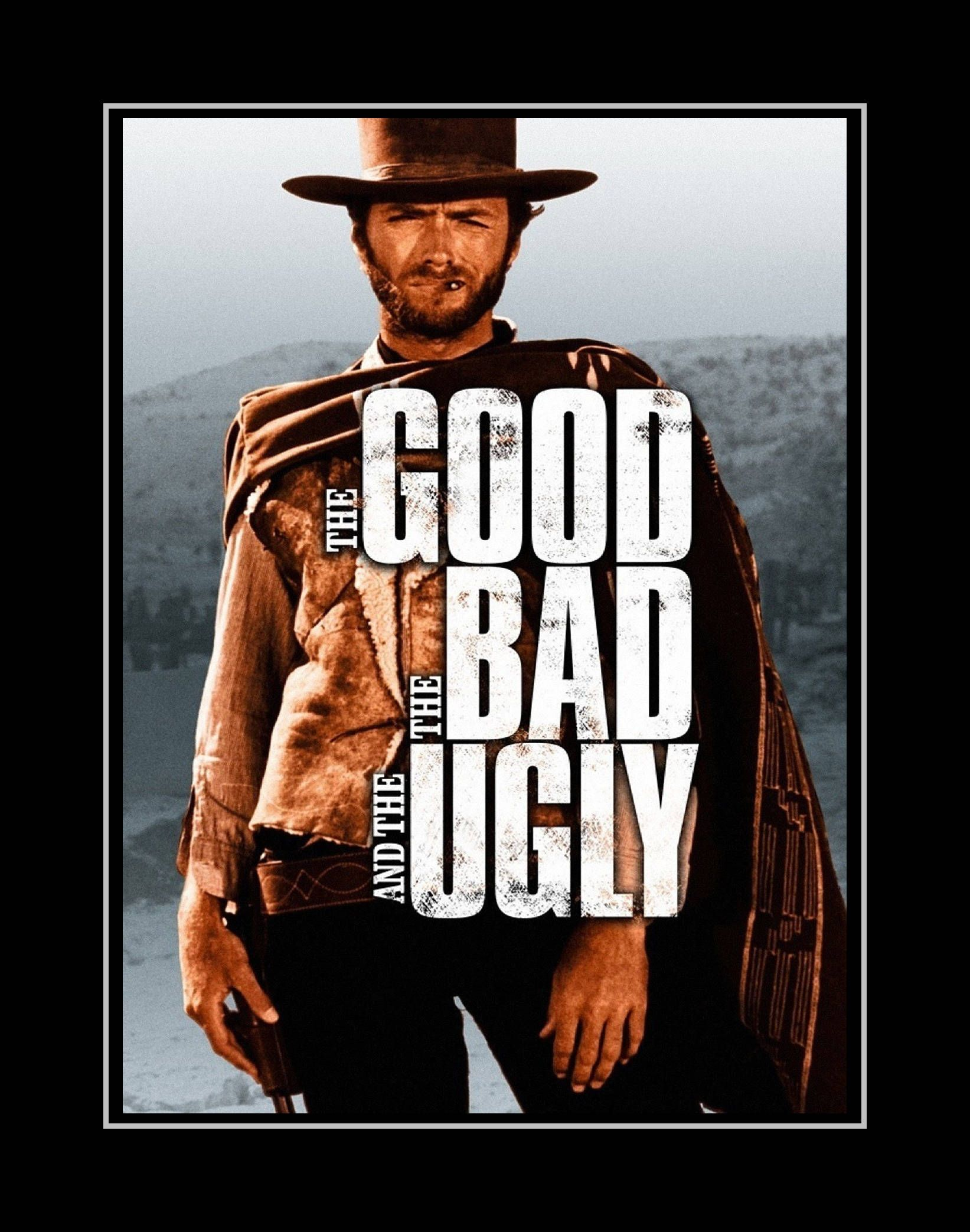 Clint Eastwood The Good Bad Ugly Western 8 x 10 11 x 14 Photo Picture Photograph