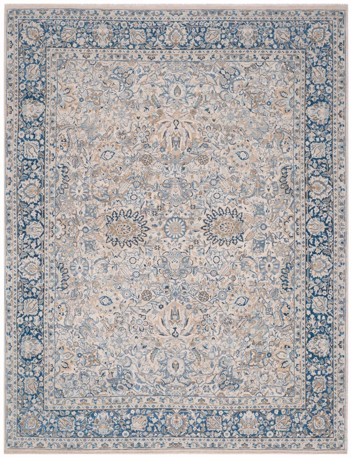 Rlr8285a Imogen Rug From Ralph Lauren Collection Based On An Antique Persian Lavar Kerman Carpet The Home Pays Tribute To