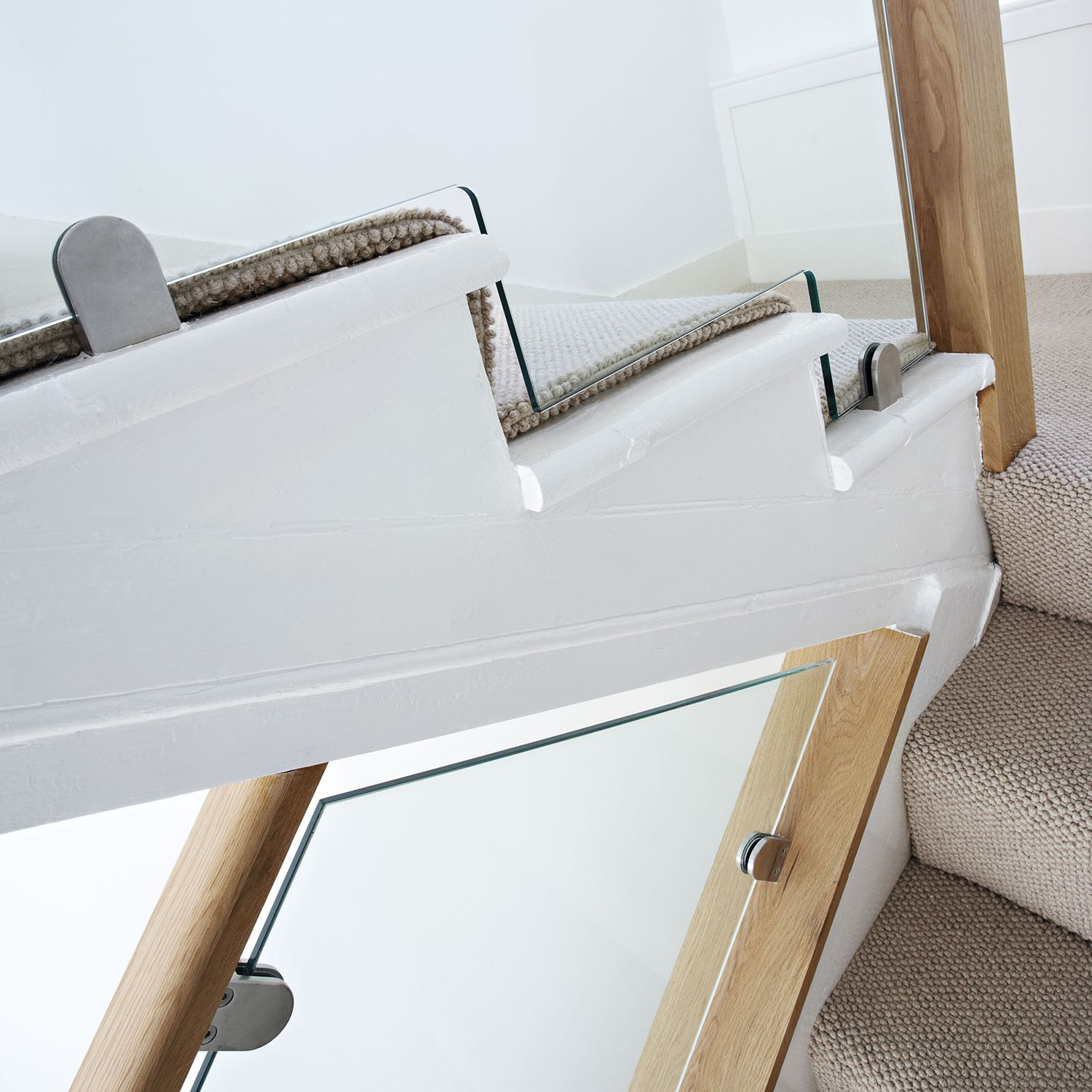 Best Oak Glass Staircase Glass Staircase Bespoke Staircases 400 x 300