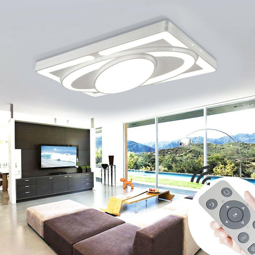 Led Deckenleuchte Dimmbar Deckenlampe 48w 78w Wohnzimmer Badleuchte Kuchen Lampe In 2020 Moderne Deckenleuchten Deckenlampe Led Deckenleuchte Dimmbar