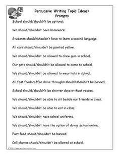 Argumentative Essay Prompts  Argumentative Essay  Pinterest  Argumentative Essay Prompts