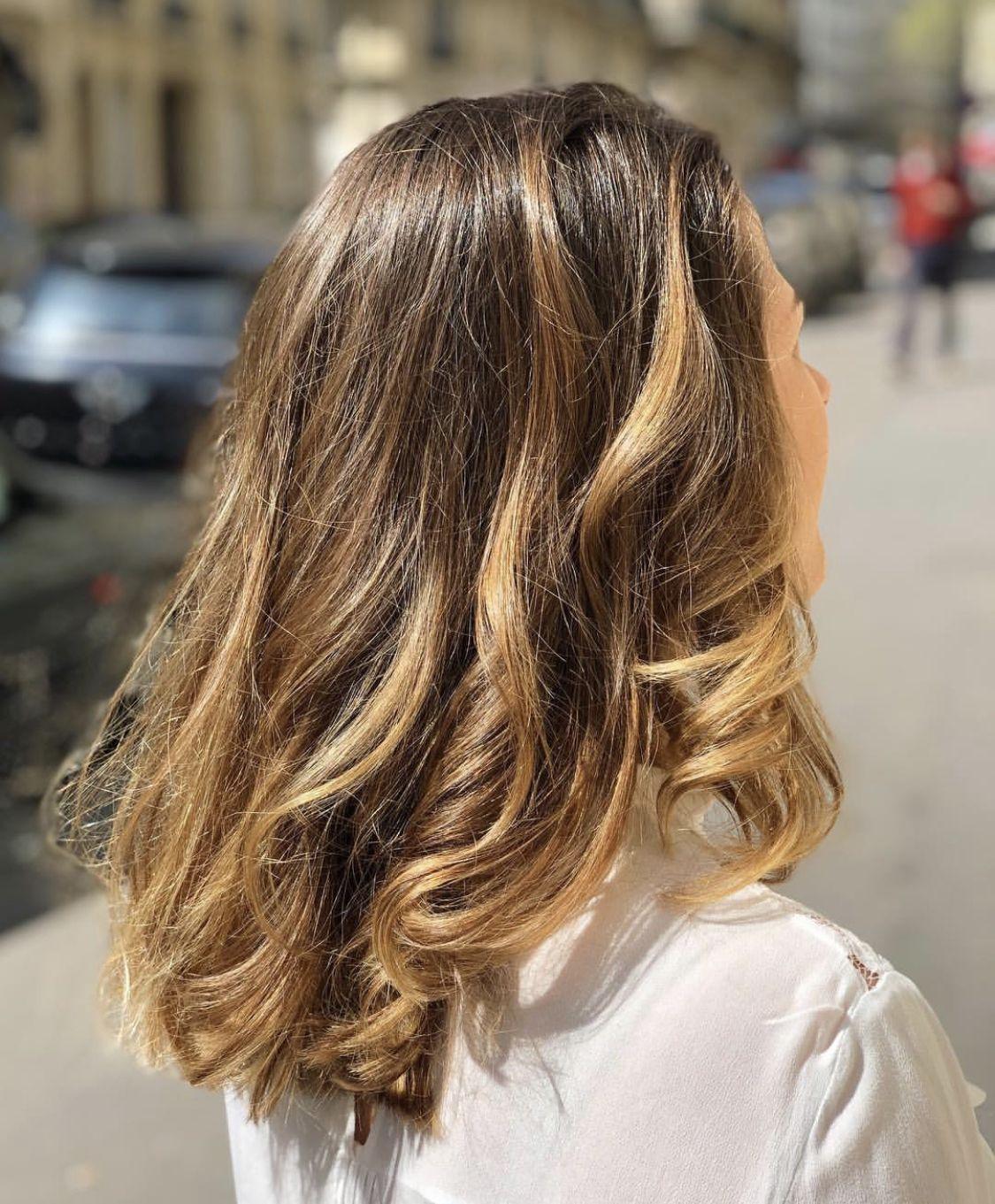 Blonde Blondehair Cheveux Cheveuxcolores Couleur Cheveuxmilong Meches Cheveuxmeches Coloriste Color Idees De Coiffures Cheveux Mi Long Cheveux Meches