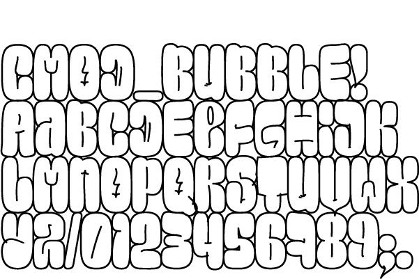 bubble letters font letter cut outs letter templates in bubbles 20716 | 53232b574ff78ab253f22827040bed68