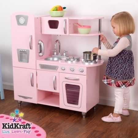 Vintage Kitchen Set Pink Is The Color Pinterest Vintage