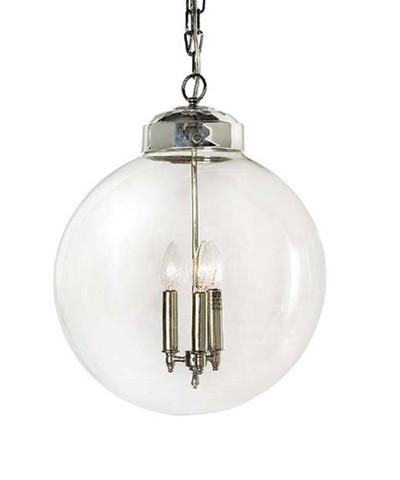 Lighting high street market glass globe pendant polished nickel lighting high street market glass globe pendant polished nickel glass globe shade polished nickel pendant aloadofball Gallery