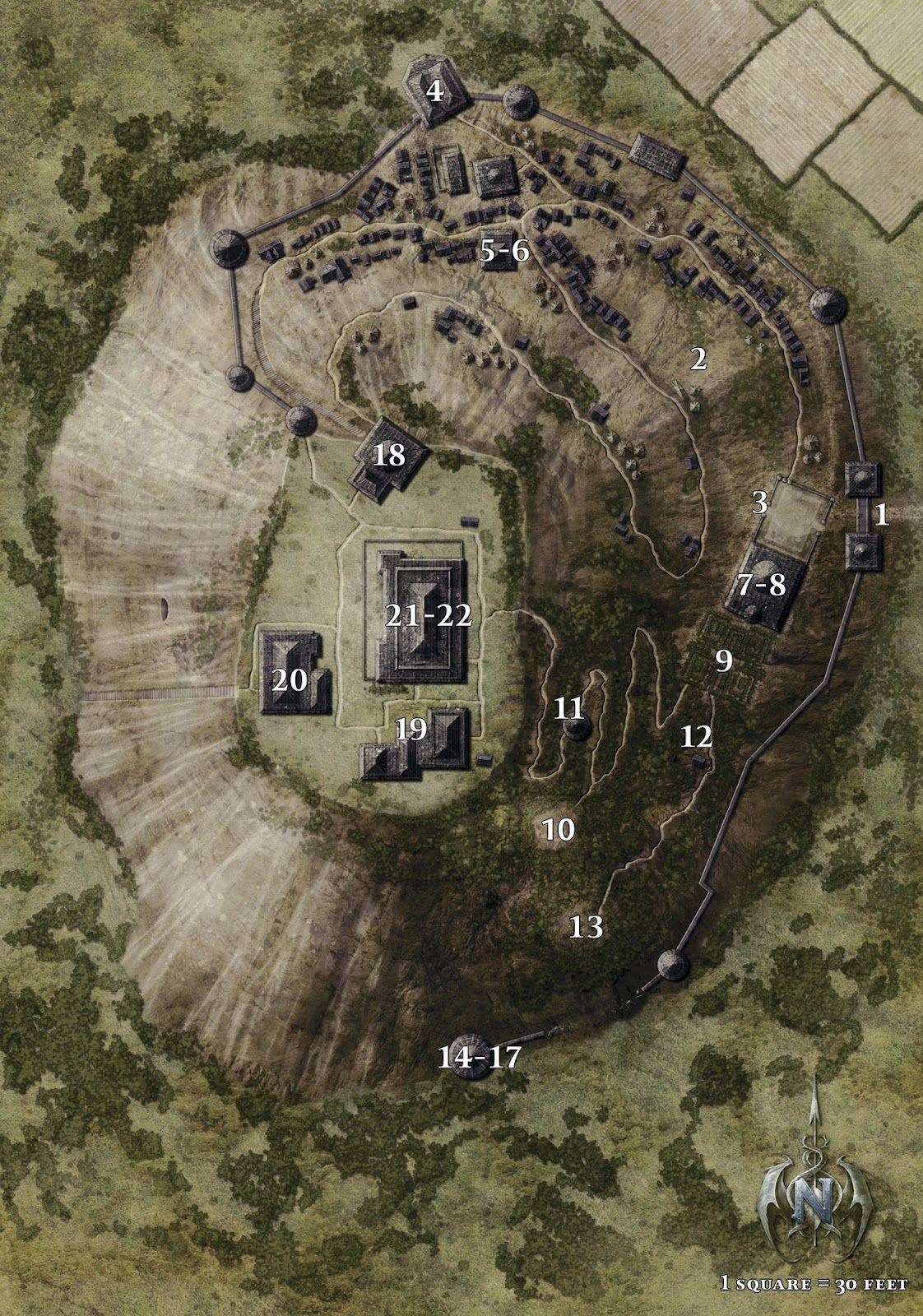 greenest keep map - Google Search | Cartography & RPG Maps ...