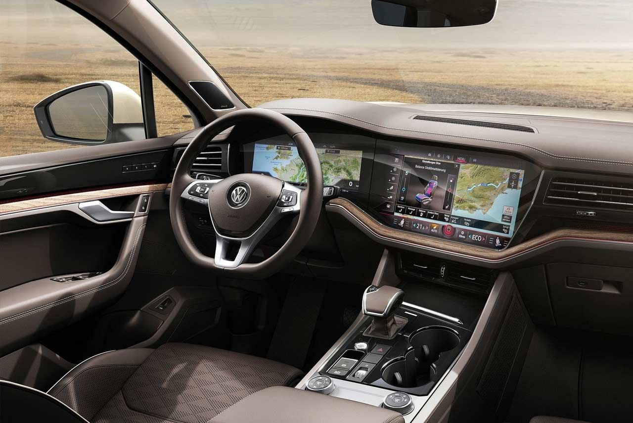 Best Vw Touareg 2019 Interior First Drive Automotive Pinterest