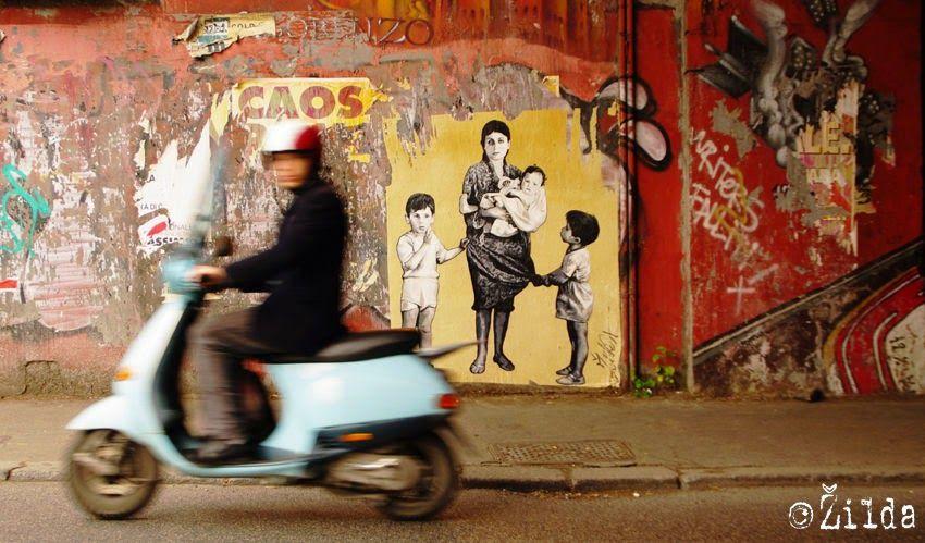Zilda nació en Rennes, en el oeste de Francia. Es un artista callejero que crea…