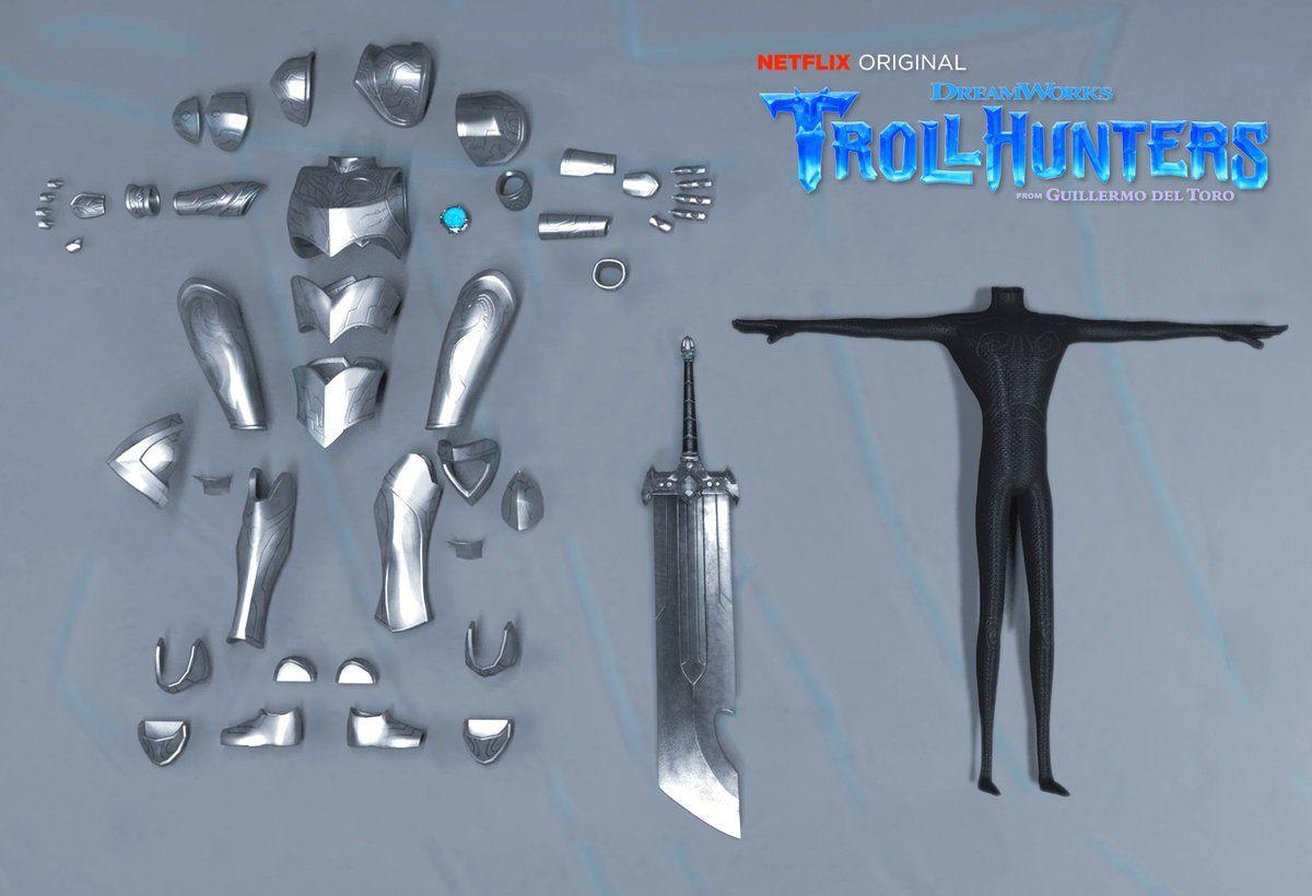 תוצאת תמונה עבור trollhunters armor Adventure time