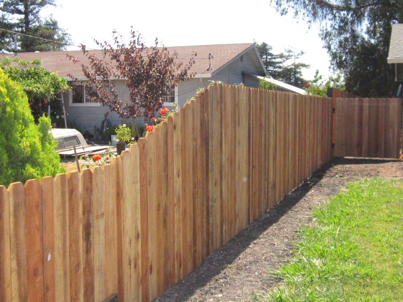 Dog Ear Arbor Fence Inc A Diamond Certified Company Backyard
