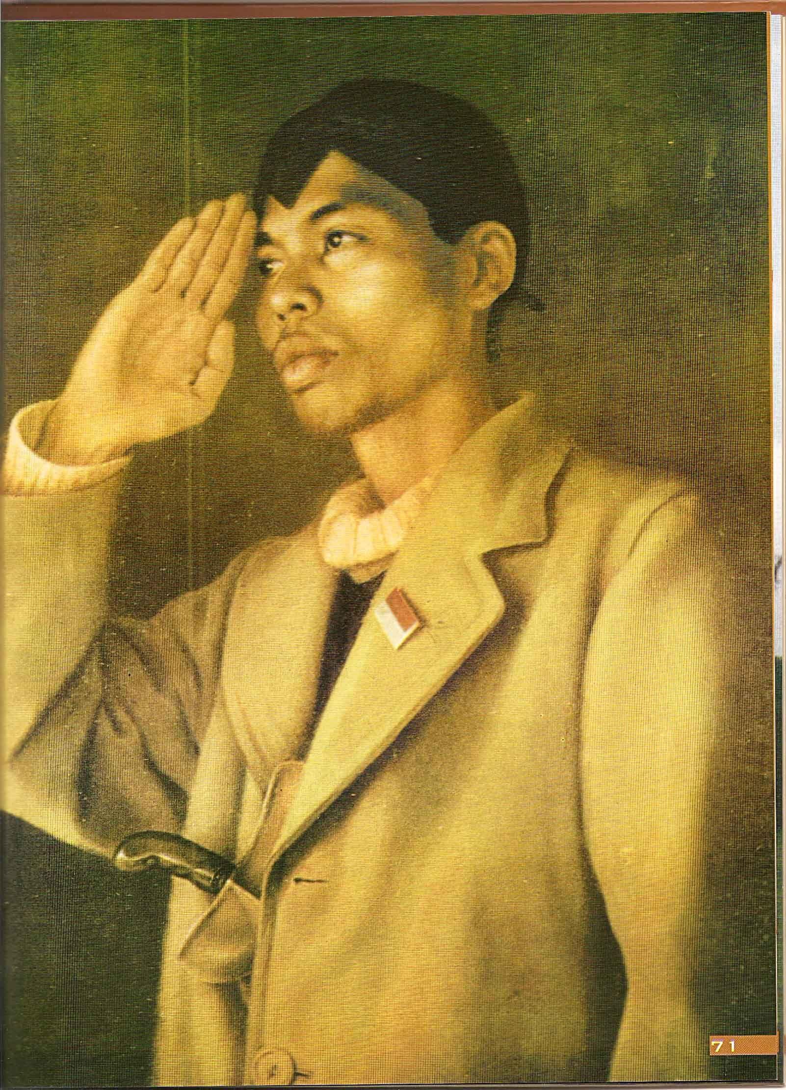 Gambar Foto Pahlawan Pangeran Diponegoro