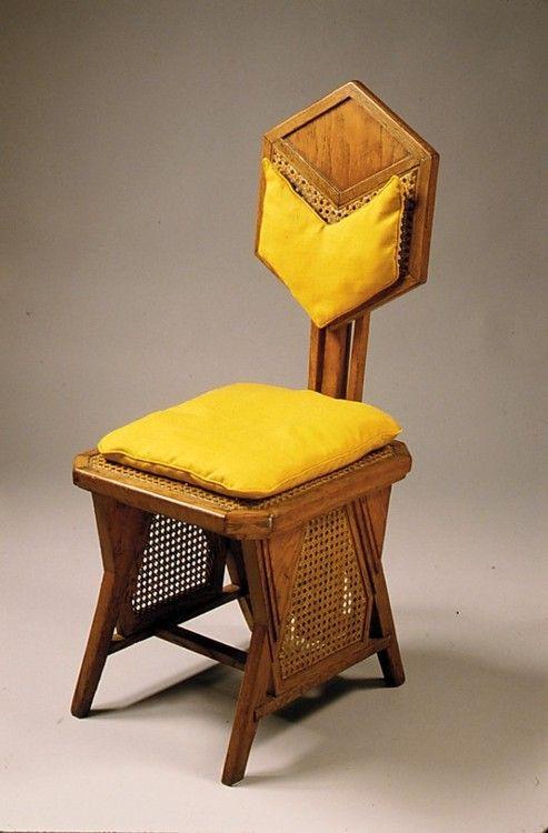 Side Chair Frank Lloyd Wright 1922 The Metropolitan Museum Of Art