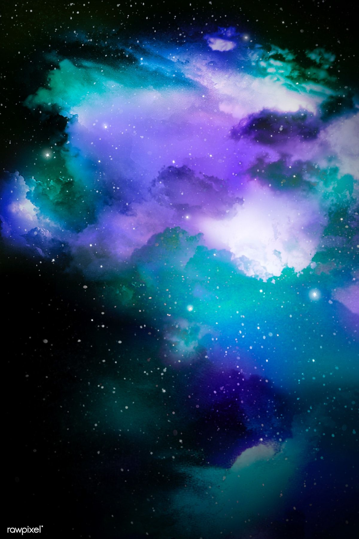 Colorful Abstract Universe Textured Background Free Image By Rawpixel Com Niwat Galaxy Background Free Illustrations Textured Background