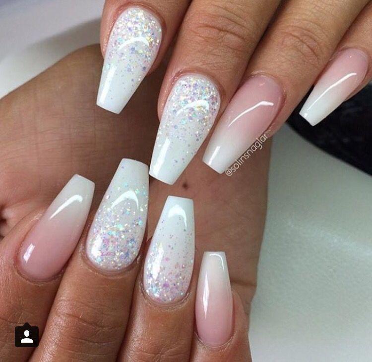 Blanco | Uńas | Pinterest | Nail inspo, Nail nail and Makeup