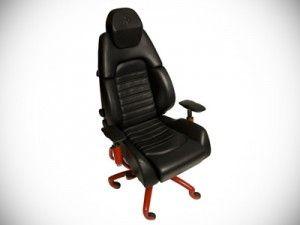 Ferrari Office Chair - You can't afford the car, and now you also can't afford the chair. $8,500