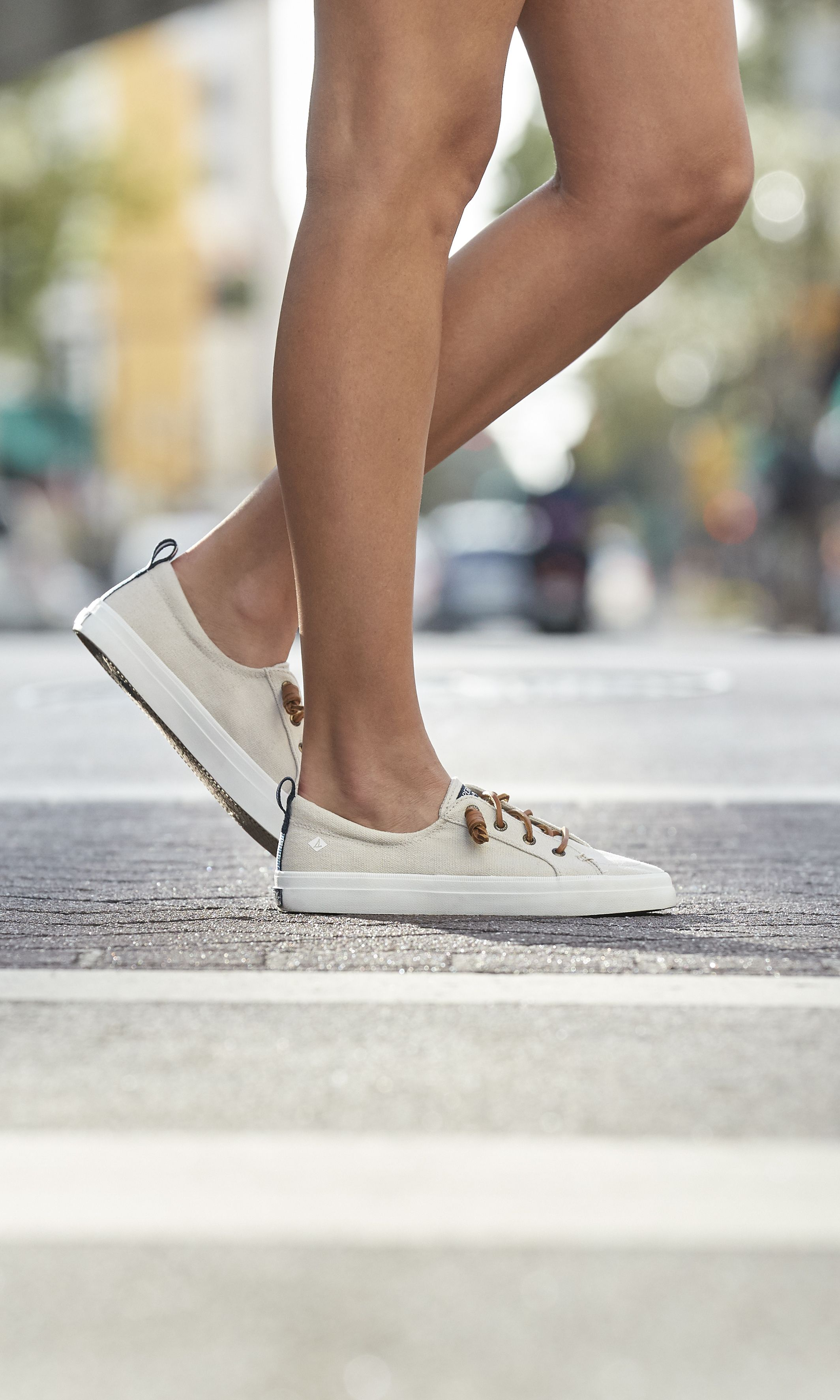 Sperry Top-Sider Womens Crest Vibe Linen Sneaker