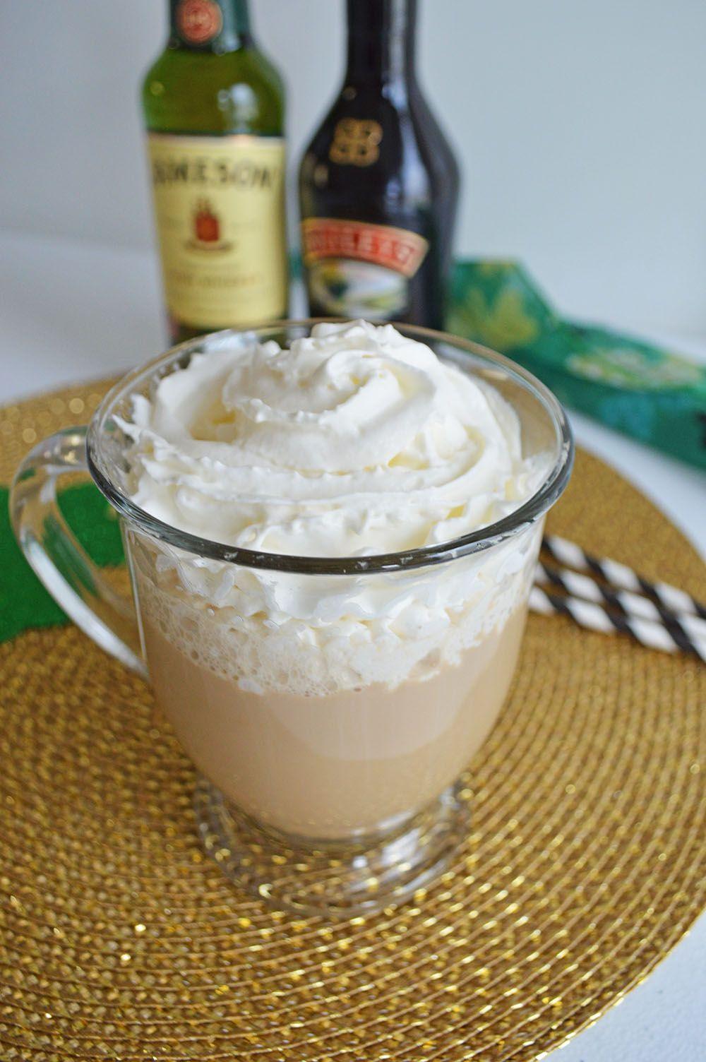 Irish Coffee Recipe Irish coffee recipe jameson