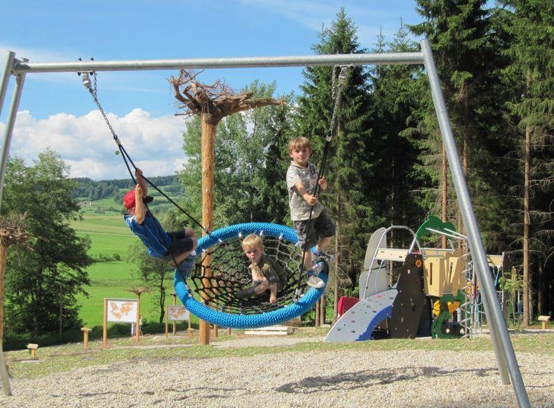 fledermaus waldspielplatz in rinchnach bayerischer wald reisen rinchnach spielplatz und wald. Black Bedroom Furniture Sets. Home Design Ideas