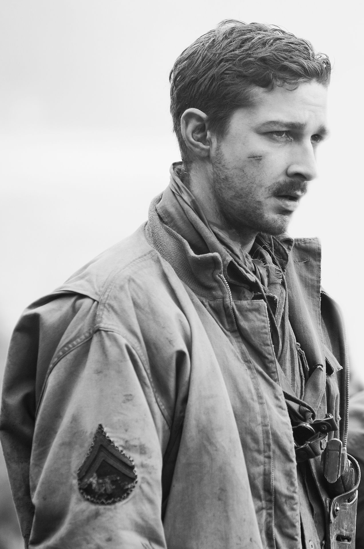 shia labeouf in fury (2014) Shia labeouf fury, Shia
