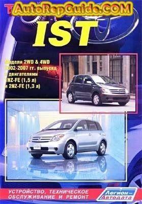 download free toyota ist 2002 2007 repair manual image by rh pinterest com Car Repair Manuals toyota ist 2003 service manual