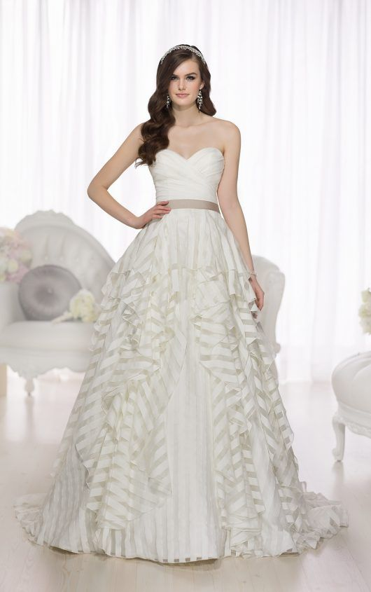 A-Line Sweetheart Wedding Dress from Essense of Australia. Style ...