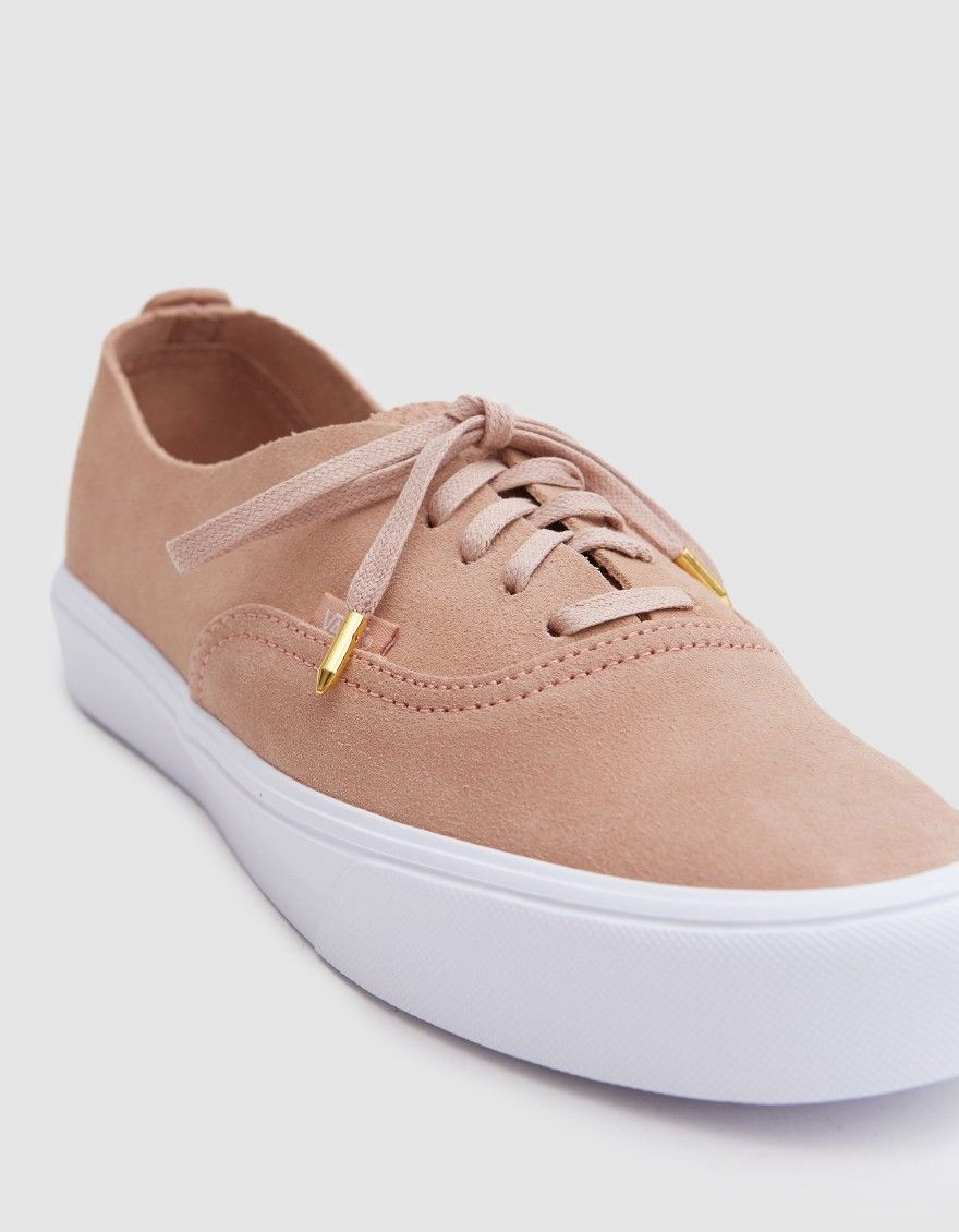 b922040f54 Vans   Authentic Decon Lite in Mahogany Rose True White