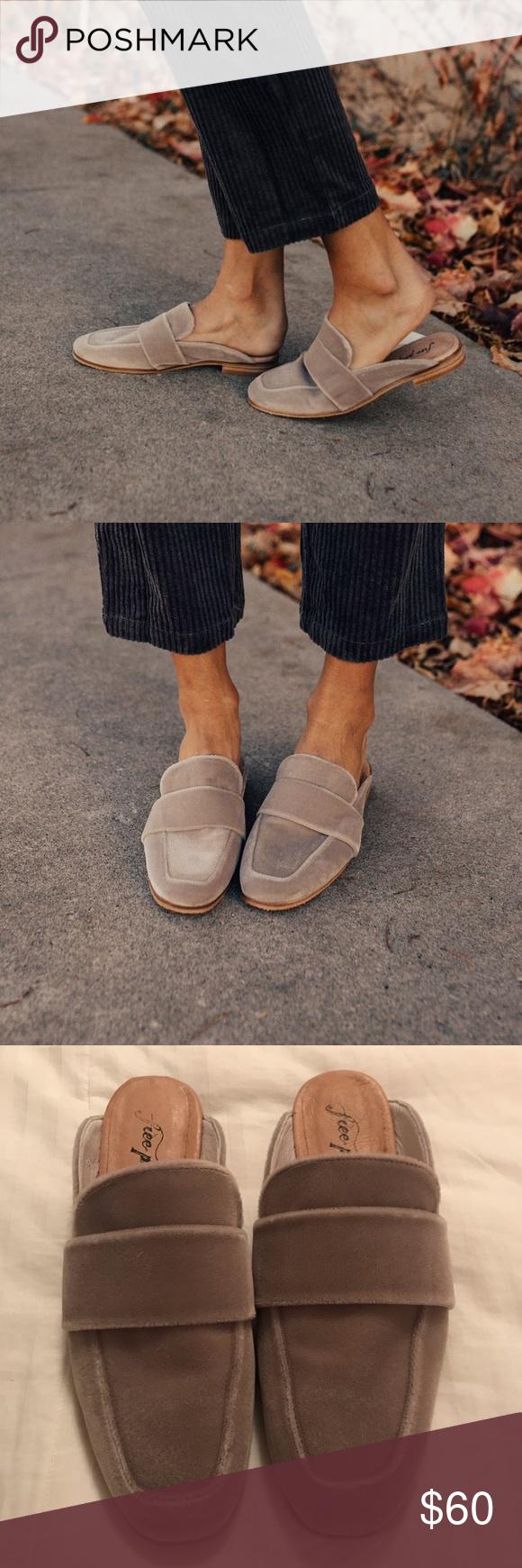 Ease Slip-On Loafer No Back Suede Size