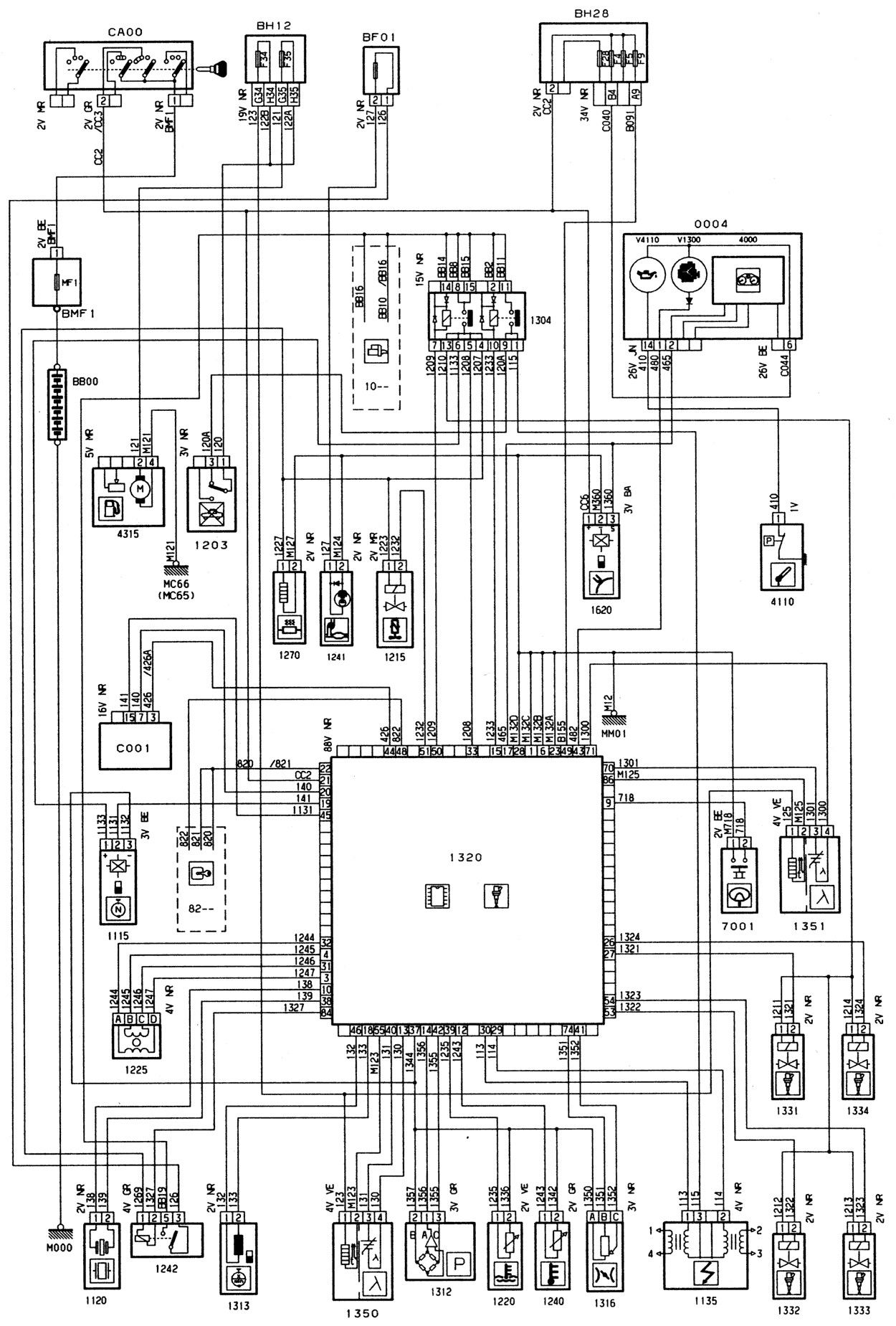 Wire Diagram For Tachometer