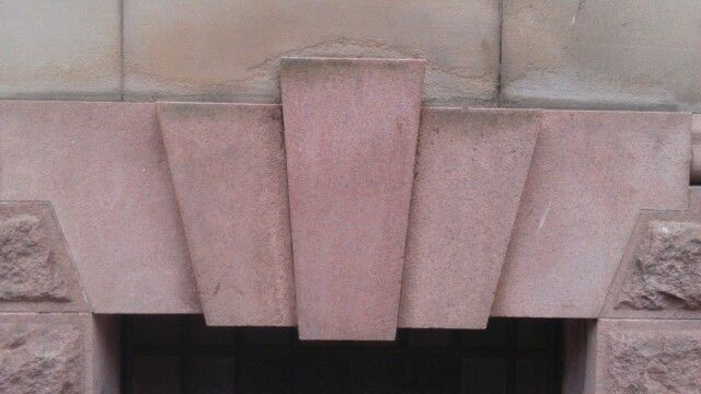 Masonic symbols on buildings in Sunderland