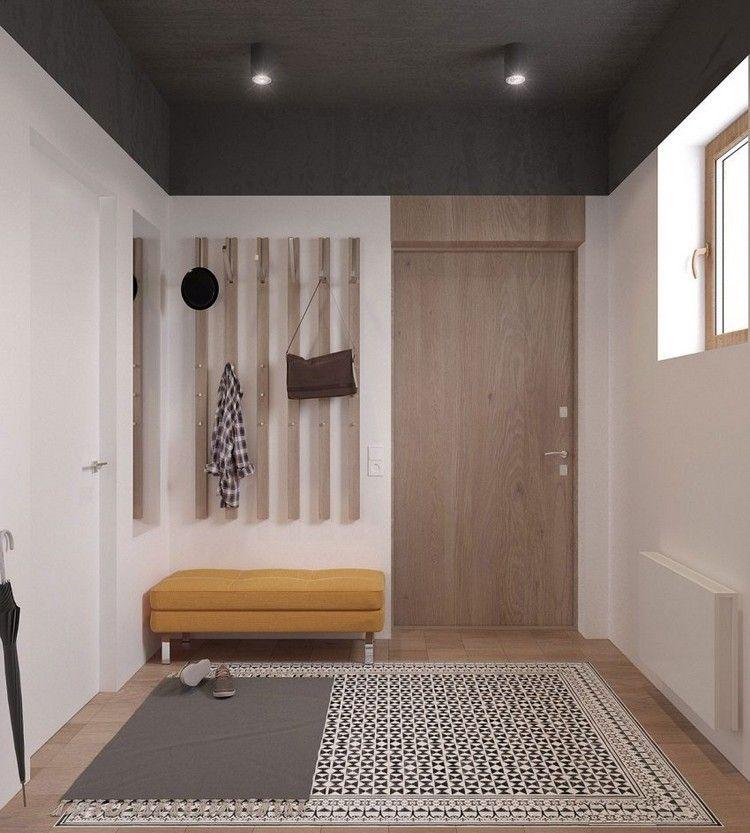 skandinavisch einrichten eingang diele zweigeschossige wohnung eingangst r unser traum vom. Black Bedroom Furniture Sets. Home Design Ideas