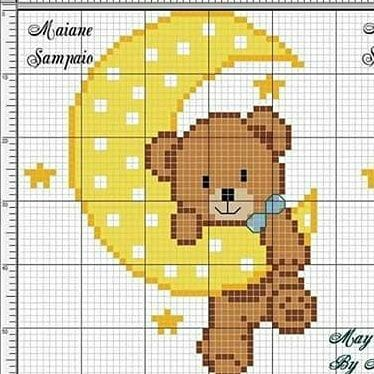 Photo of Cross Stitch Charts Instagram Post • October 21, 2019 at 2:54 am UTC