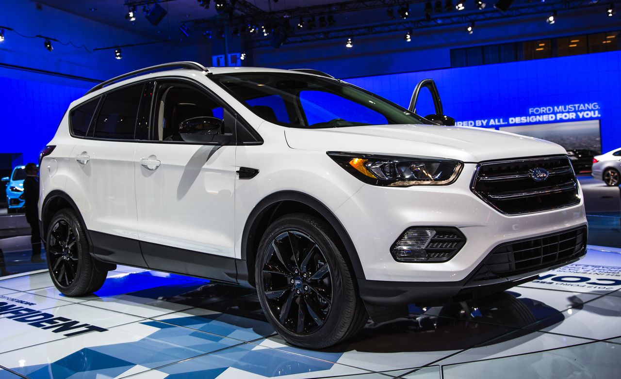 2017 Ford Escape Debuts Cranks Up The Technology With Images