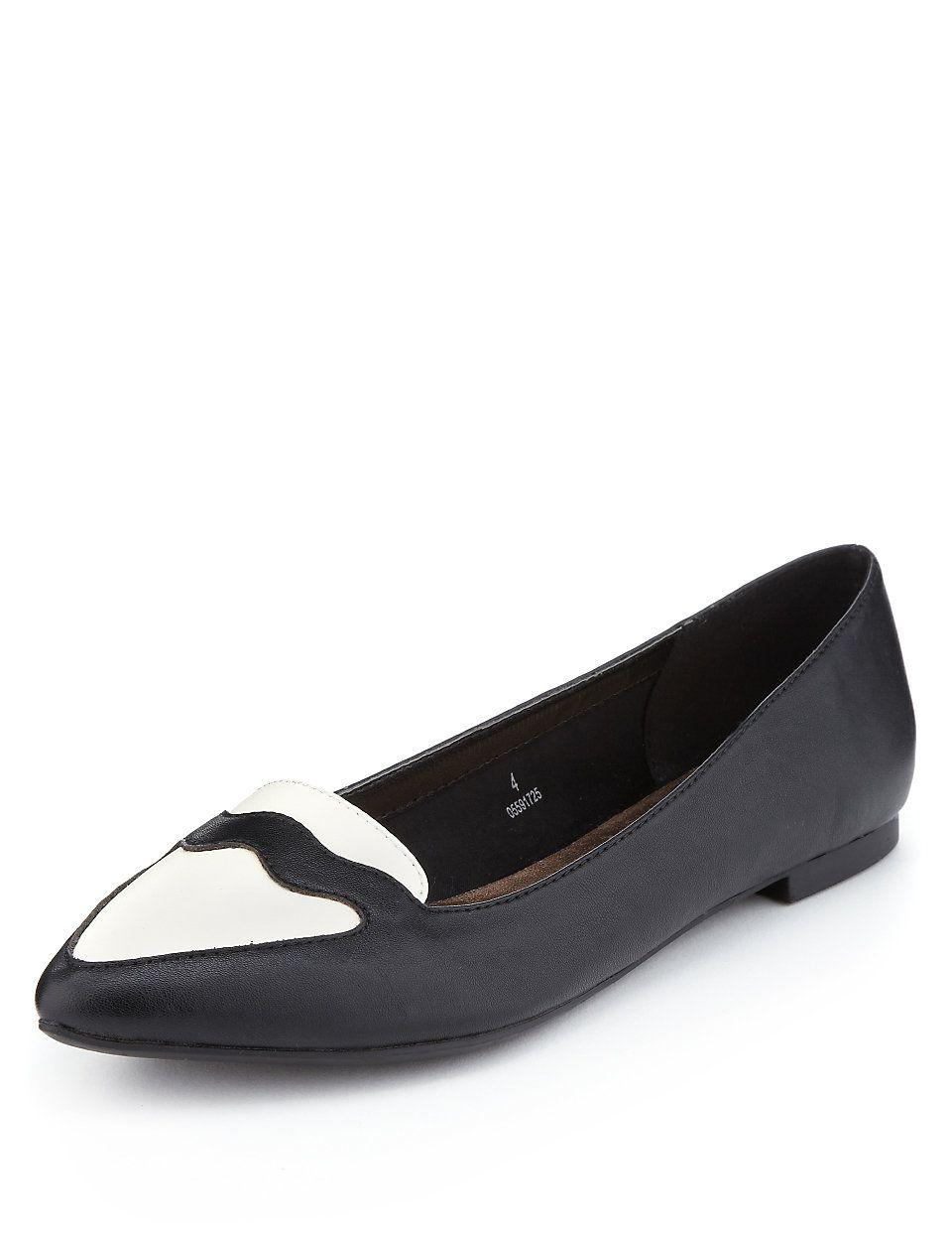 Contrast Pump Shoes with Insolia Flex