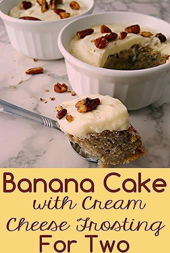 This Banana Cake with Cream Cheese