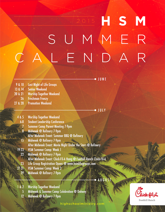 Church Calendar Design.Summer Calendar Youth Ministry Ideas Summer Calendar Summer