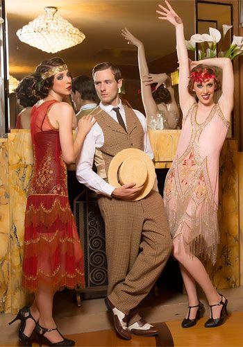 Beautiful 1920s Fashion Meets Today Love The Mens Look Too