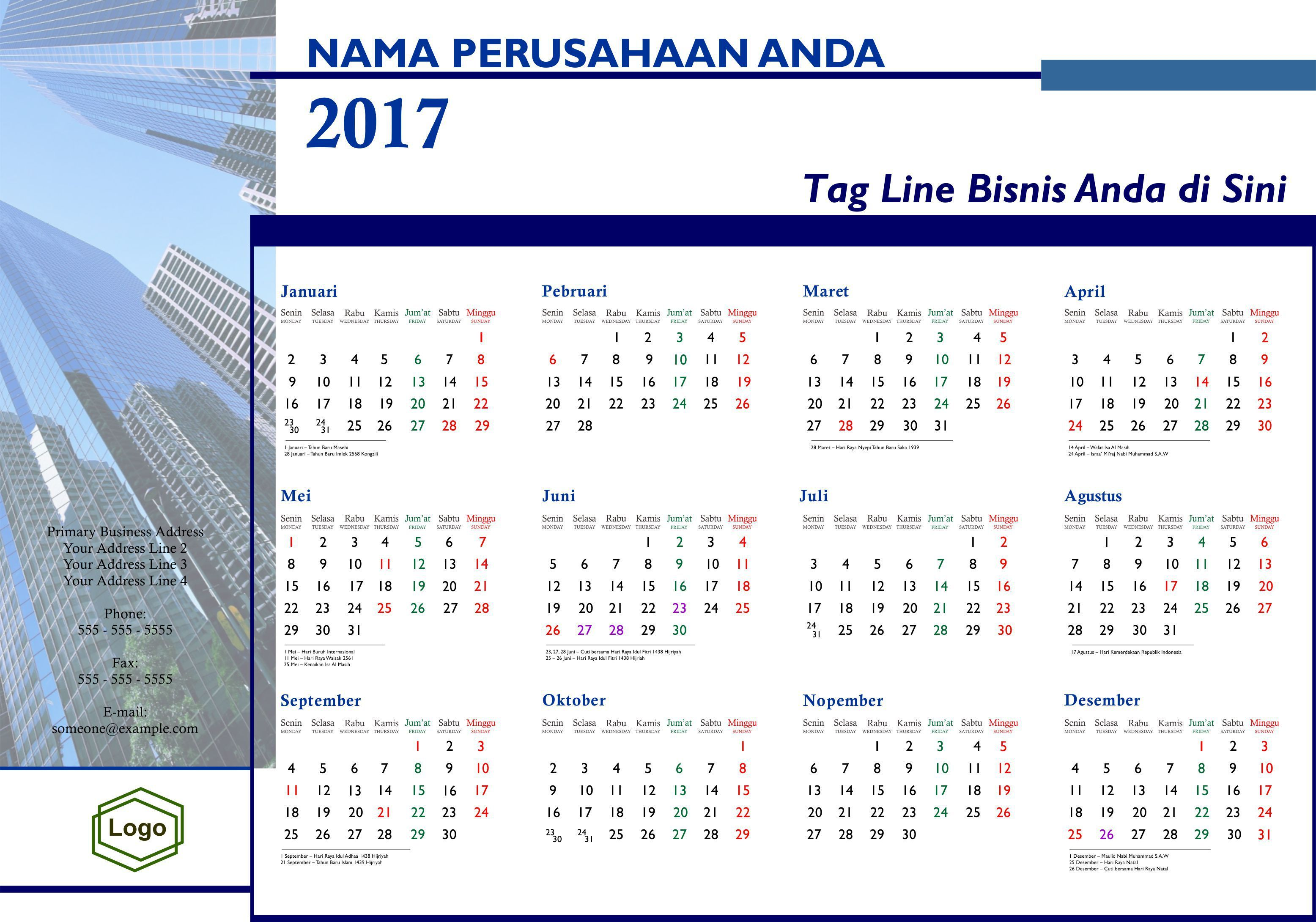 Weihnachten 2017 Kalender