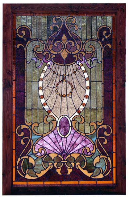 Romany Soup: Stained Glass (cool idea for a kitchen sky light or that window near the sink )