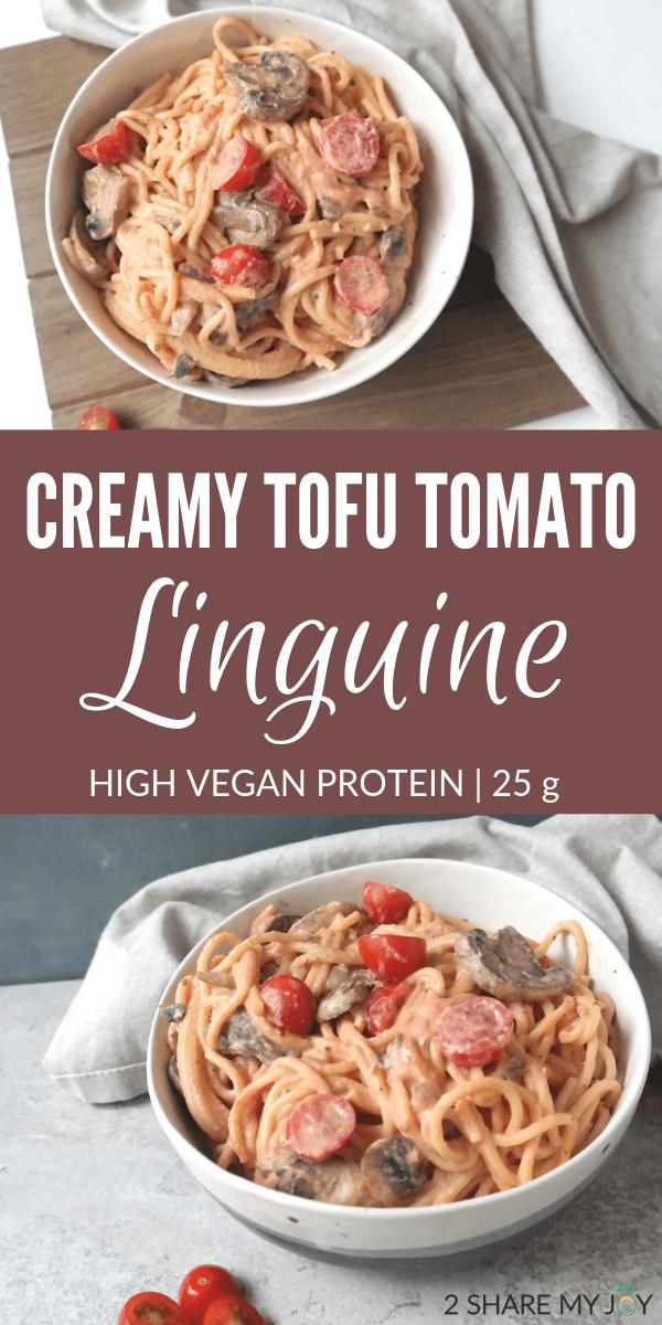 Creamy Vegan Sun Dried Tomato Spaghetti