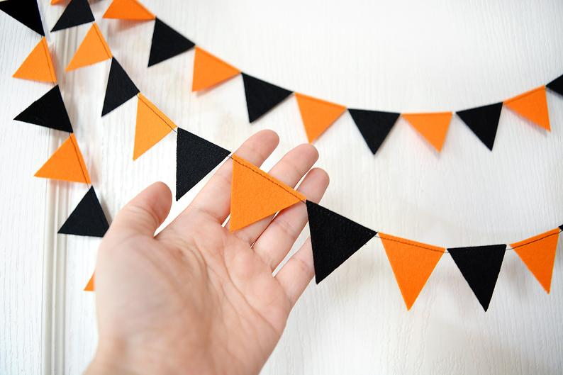 Knit FallThanksgiving Bunting-Mini Flags HomePartyPhotography Decor