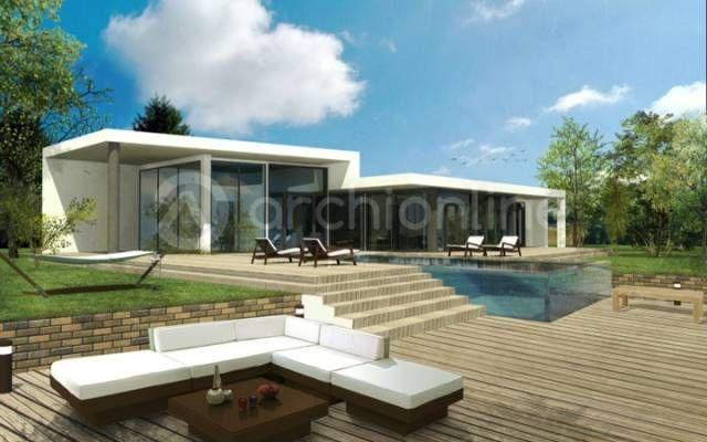 Maison Max Plan De Maison Contemporaine Par Archionline House Plans House Architecture